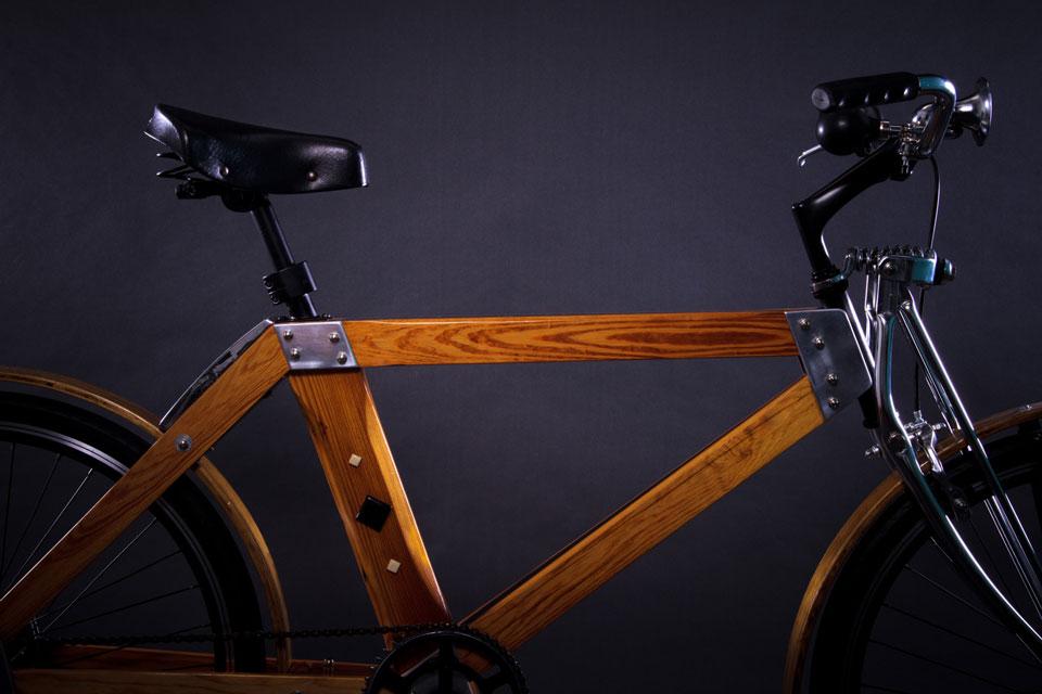 Una bicicleta de buena madera | Chacabuco Noticias