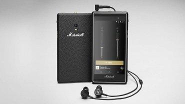 Para los amantes de la música: se presentó el celular de Marshall